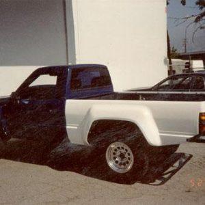 Toyota Pick-Up Bedsides – 1984- '88 – Short Bed 4″ Bulge