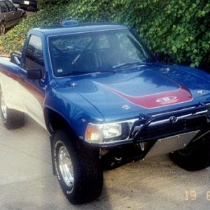Toyota Pick-Up Hoods – 1989- '95 – Ivan Style, Short Requires 4 Pins