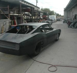 1968 Barracuda Complete Body Fiberglass