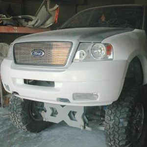 Ford F-150/1997 and Up Front Bumpers 2004-'07 Front Valance For HF8016 Front Fenders
