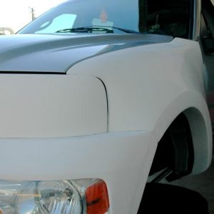 Ford F-150/1997 and Up Front Bumpers 2004-'07 Front Bumper for Headlight Relocation