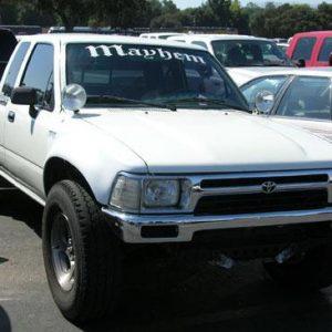 Toyota Pick-Up Front Fenders – 1989- '95 – 4 Wheel Drive 4″ Bulge