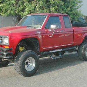 Ranger – 1983- '88 – Front Fenders 4″ Bulge