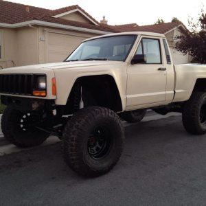 Jeep Comanche – Short Bedside 3″ Bulge