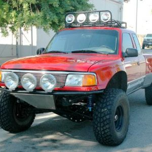 Ranger – 1998 and Up – Front Fenders 4″ Bulge