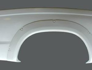 Nissan Frontier Bedsides – 2001-'04 – Extra Cab-5″ Bulge with Simulated Bolt on Flare
