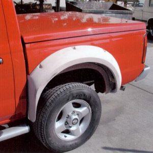 Nissan Frontier Bedsides – 2001- '03 – Crew Cab Bolt on Flare 3″ Bulge