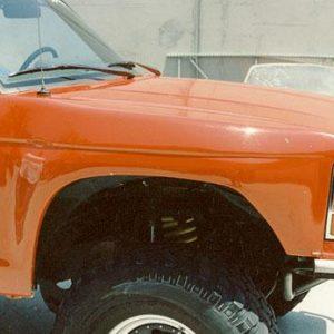 Ranger – 1989-'92 – Front Fenders 4″ Bulge