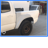 Toyota Tacoma Bedsides – 2005 and up – 5ft bed 4″ Bulge
