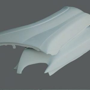 Toyota Tacoma Fenders – 2005 and Up – Round Top 4″ Bulge
