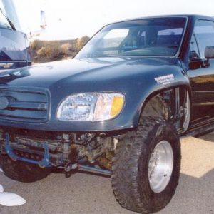 Toyota Pick-Up 1-Piece Fronts – 1989- '01 – Tundra Conversion- Use's Stock Headlights
