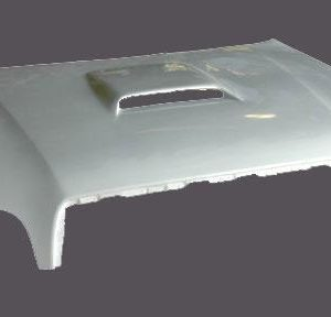 Toyota Tundra Hoods – 1999 and Up – Hood With Air Scoop Bolts to Hinges uses 2 Pins